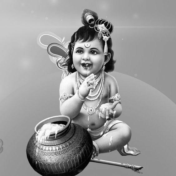 Cute Baby Krishna Images Iskcon Little Baby Krishna Images